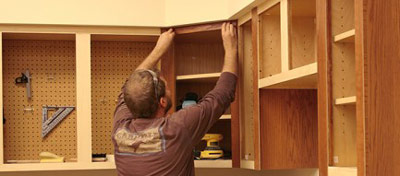 Cabinet Refacing 01
